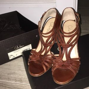 Used Cole Haan strappy sandals